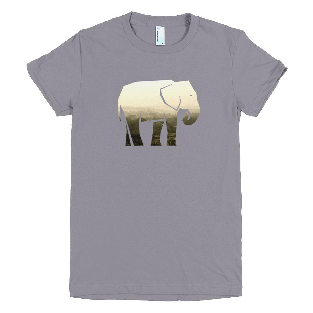 Elephant habitat t shirt women cause you care for Elephant t shirt women s