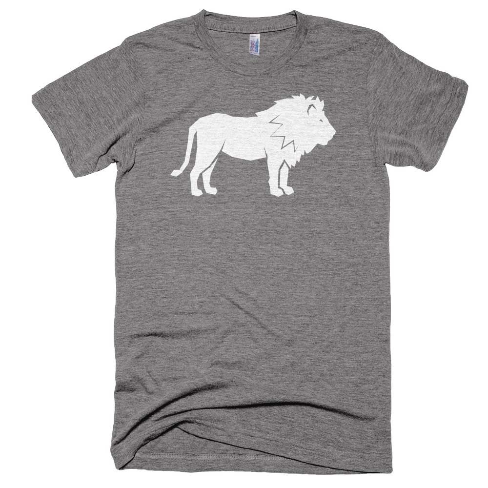 Lion Mens - Athletic Grey