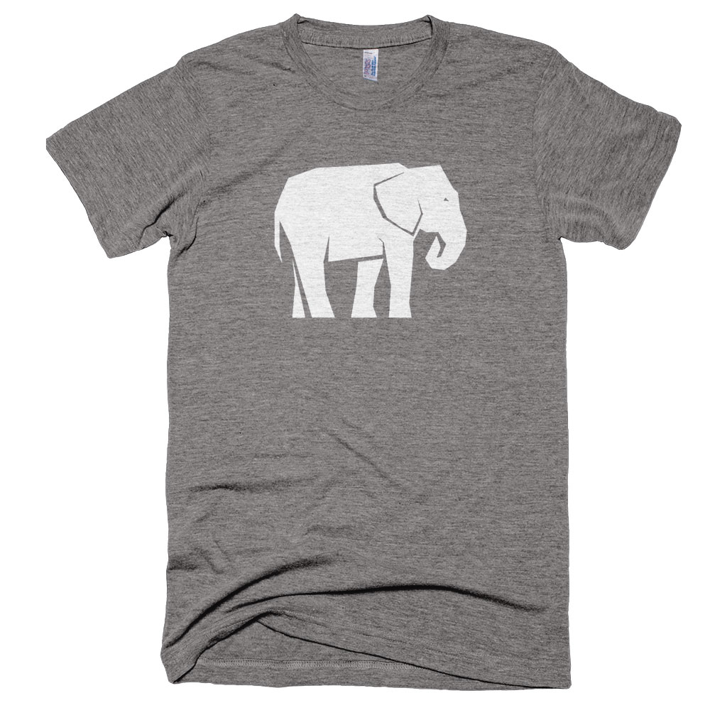 Elephant Mens - Athletic Grey