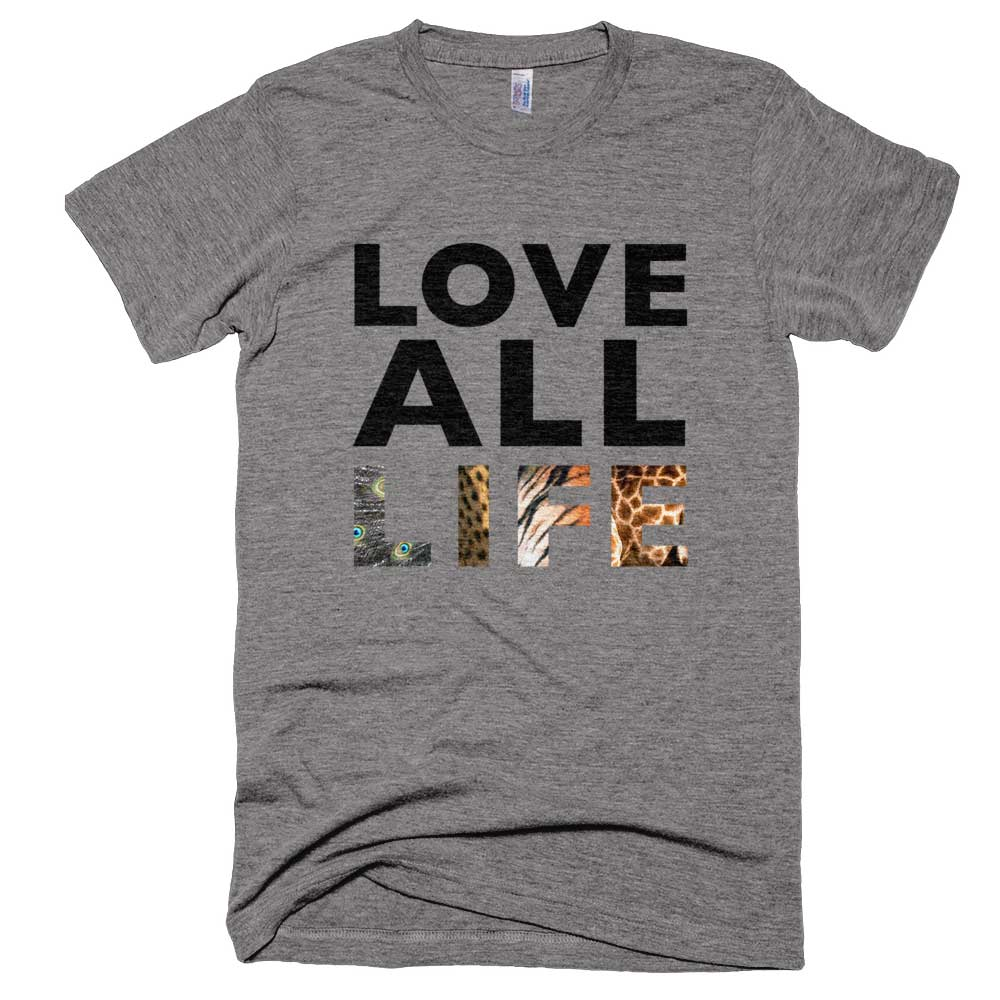 Love All Life Mens - Athletic Grey