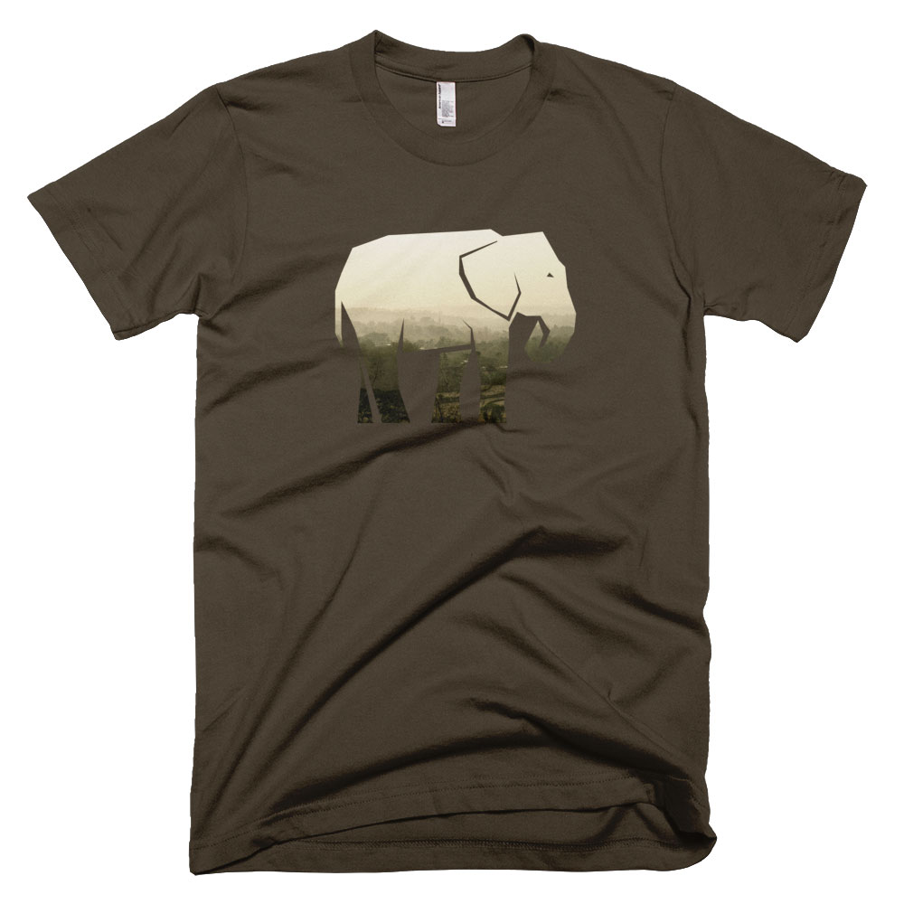 Elephant Habitat Mens - Brown