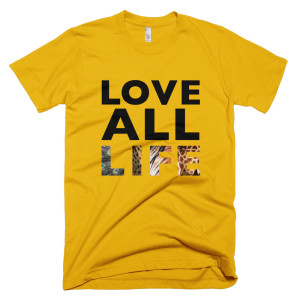 Love All Life Mens - Gold