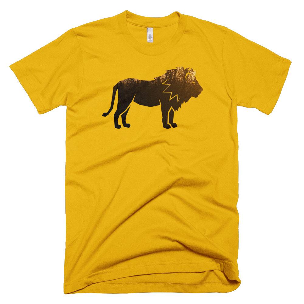 Lion Habitat Mens - Gold