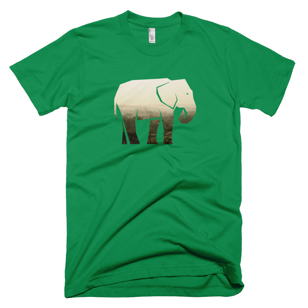 Elephant Habitat Mens - Kelly Green