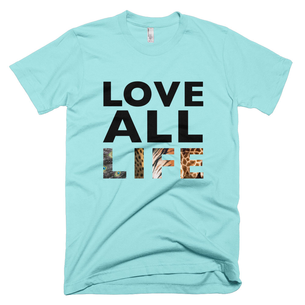 Love All Life Mens - Light Aqua