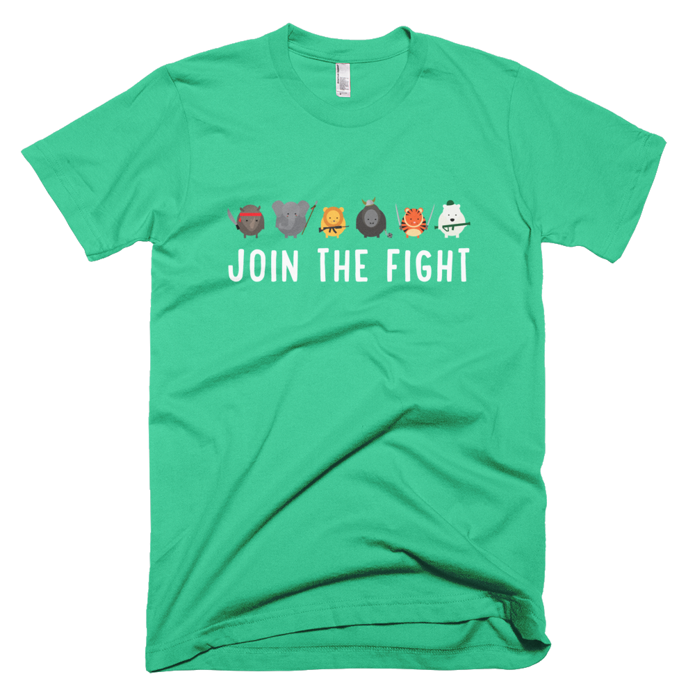 Join the Fight Mens - Mint