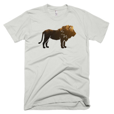 Lion Habitat Mens - New Silver
