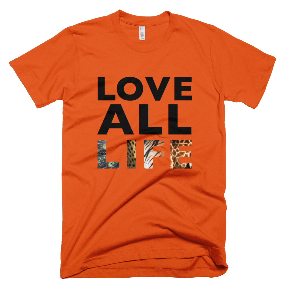 Love All Life Mens - Orange