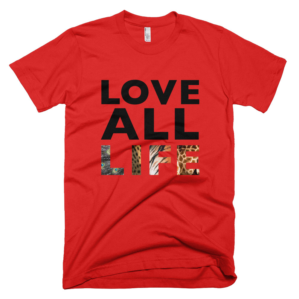 Love All Life Mens - Red