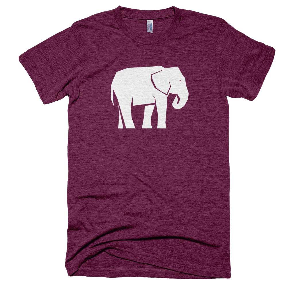 Elephant Mens - Tri-Cranberry