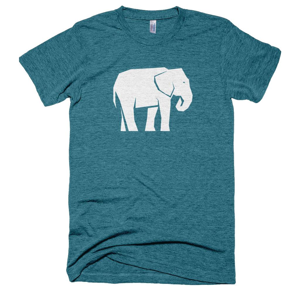 Elephant Mens - Tri-Evergreen