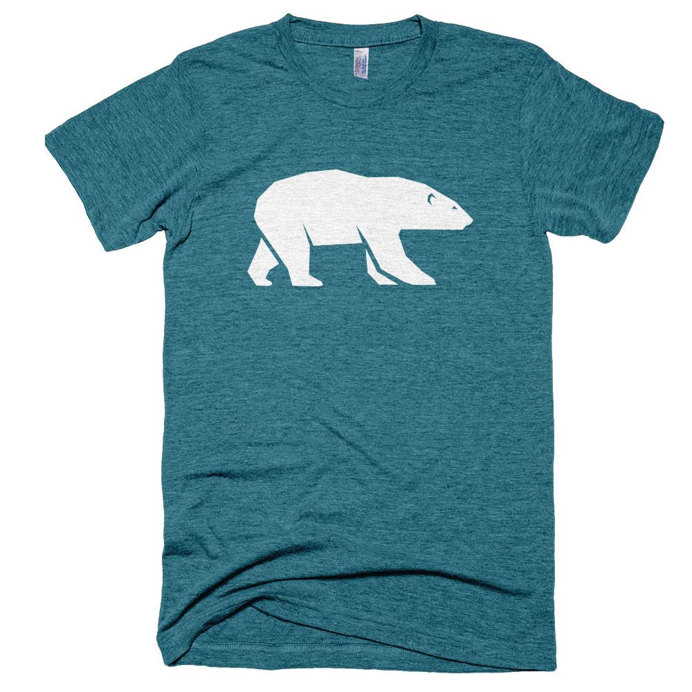 Polar Bear Mens - Tri-Evergreen