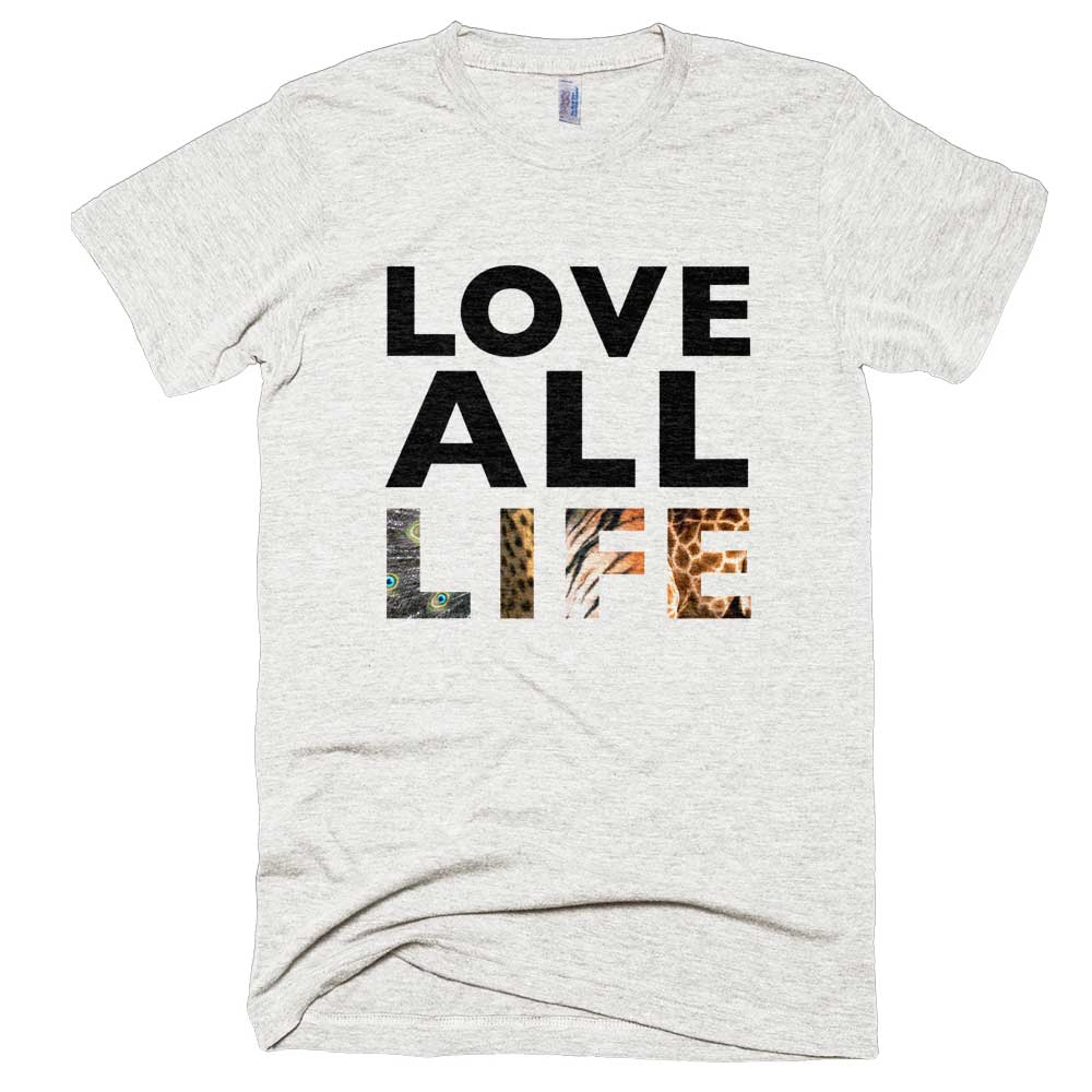 Love All Life Mens - Tri-Oatmeal