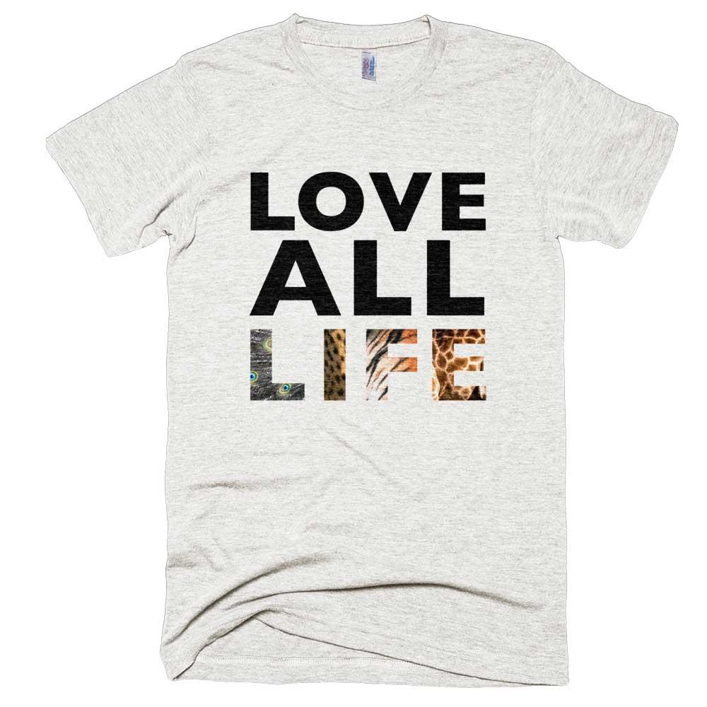 Love All Life Mens - Tri-Oatmeal