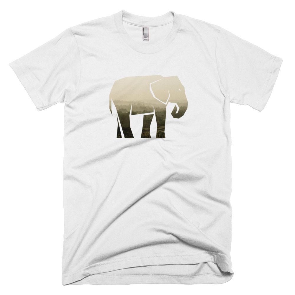 Elephant Habitat Mens - White