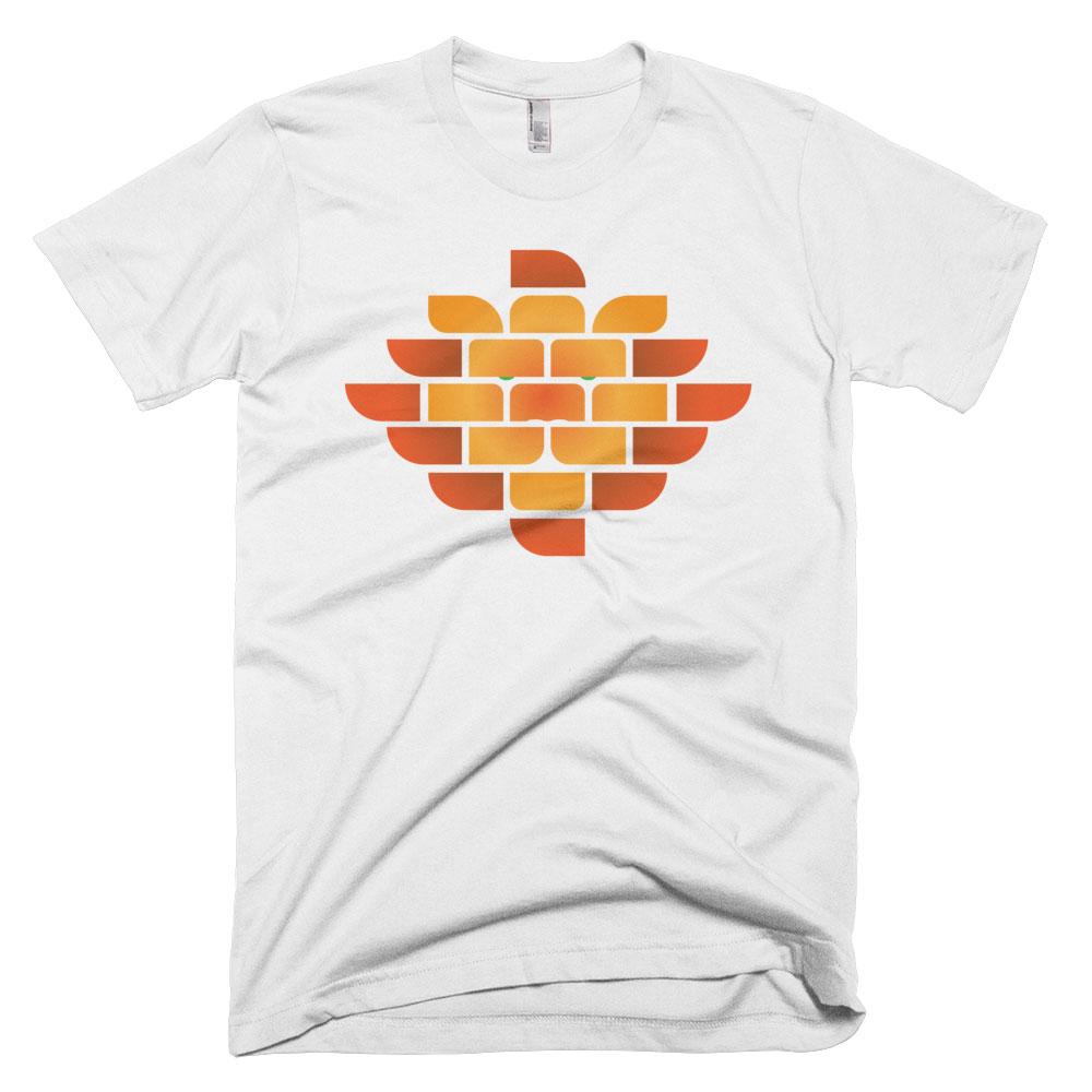 Brick Lion Mens - White