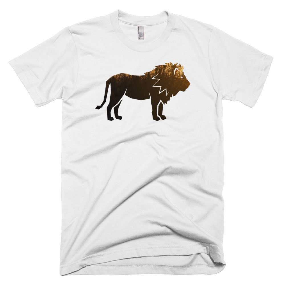 Lion Habitat Mens - White