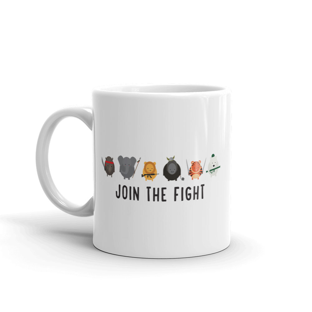 Join the Fight Mug | Cause You Care