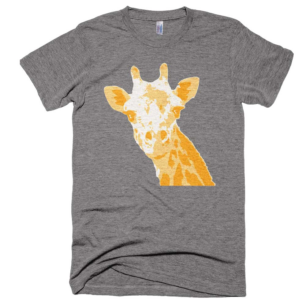 Giraffe Mens - Athletic Grey