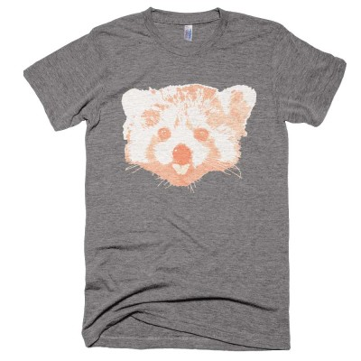Red Panda Mens - Athletic Grey