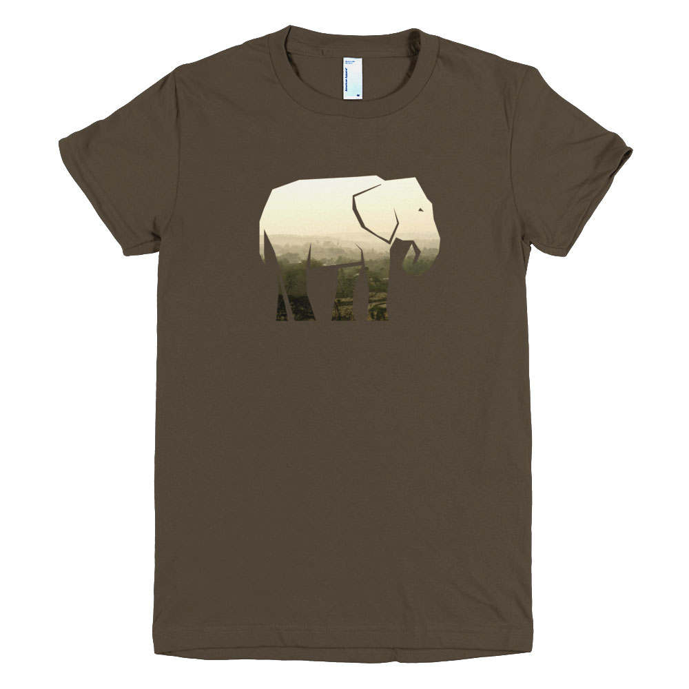Elephant Habitat Women - Brown