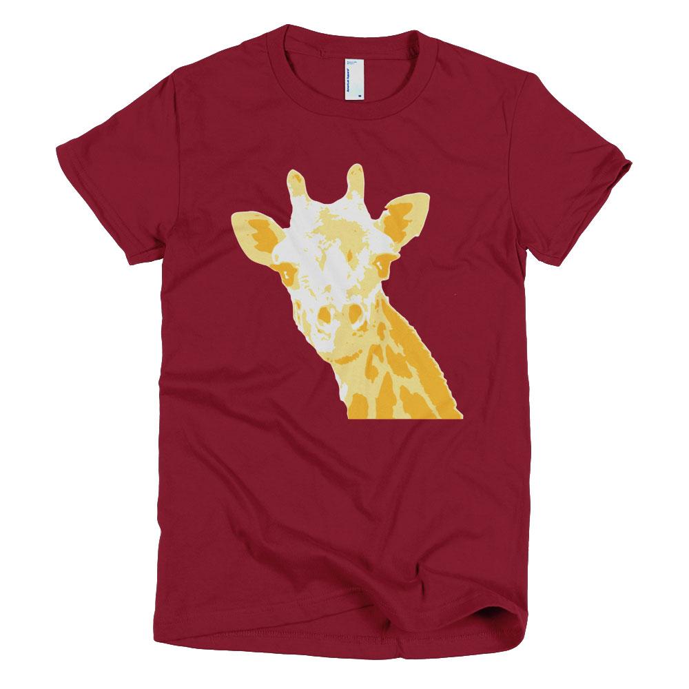 Giraffe Women - Cranberry