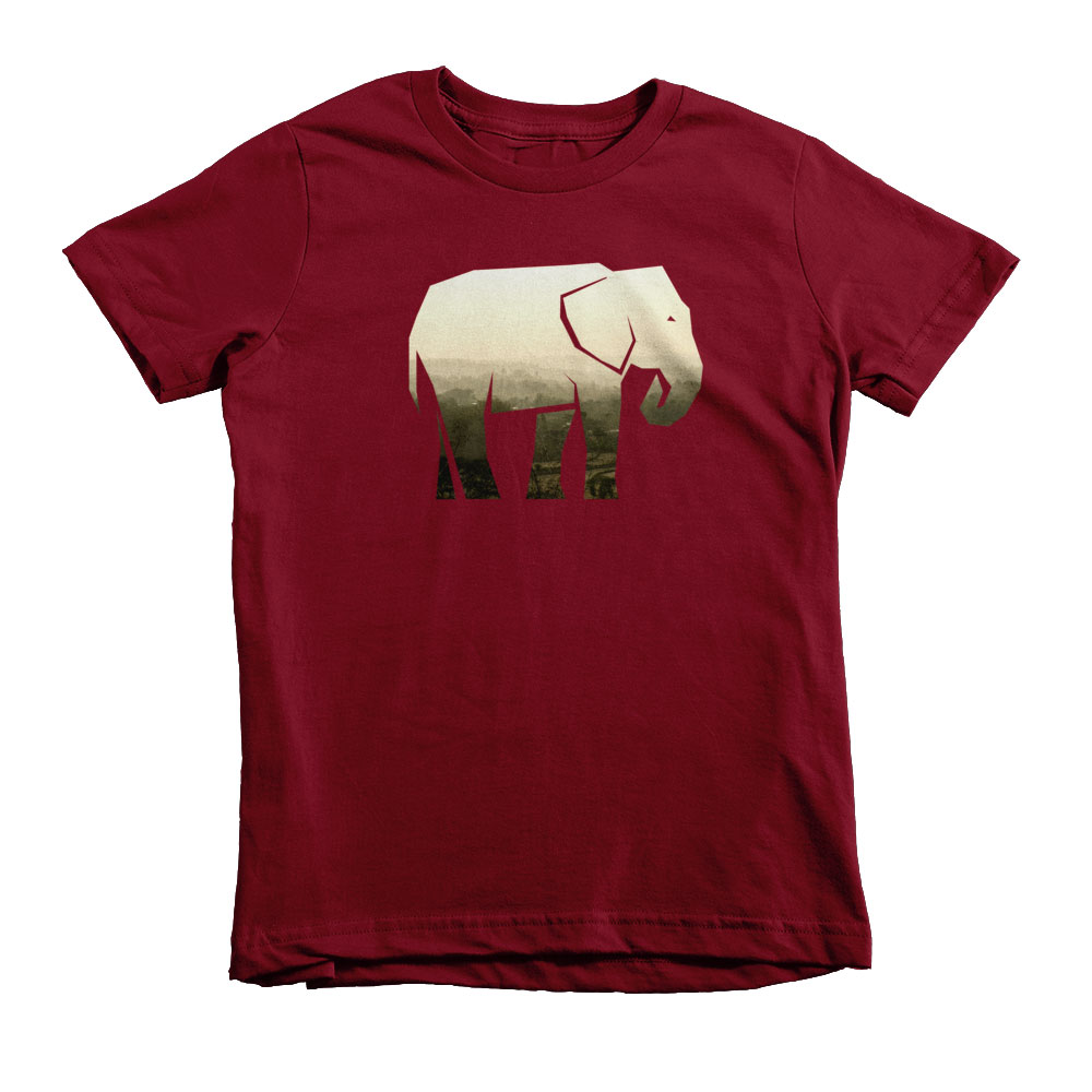 Elephant Habitat Kids - Cranberry