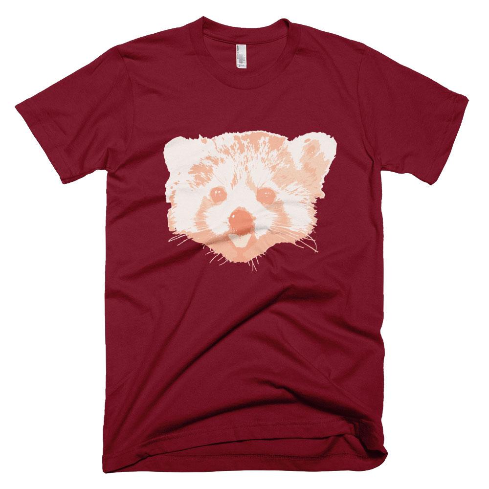 Red Panda Mens - Cranberry