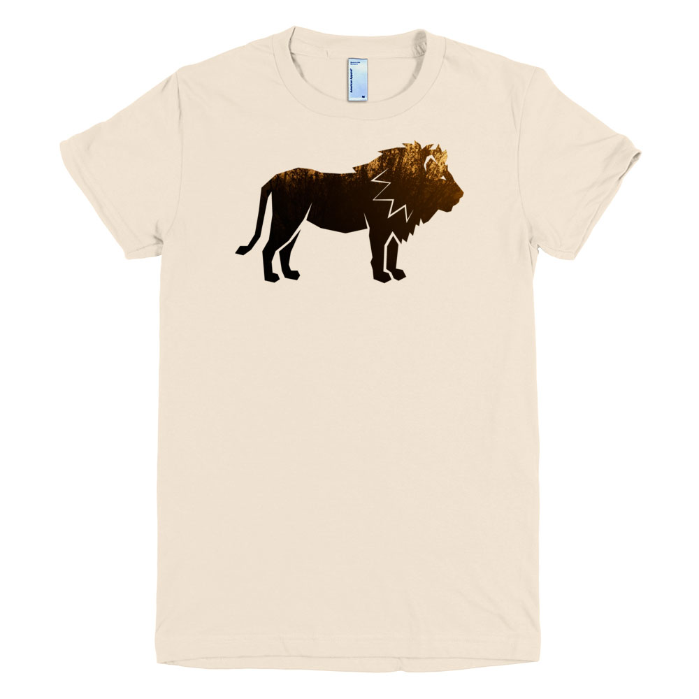 Lion Habitat Women - Creme