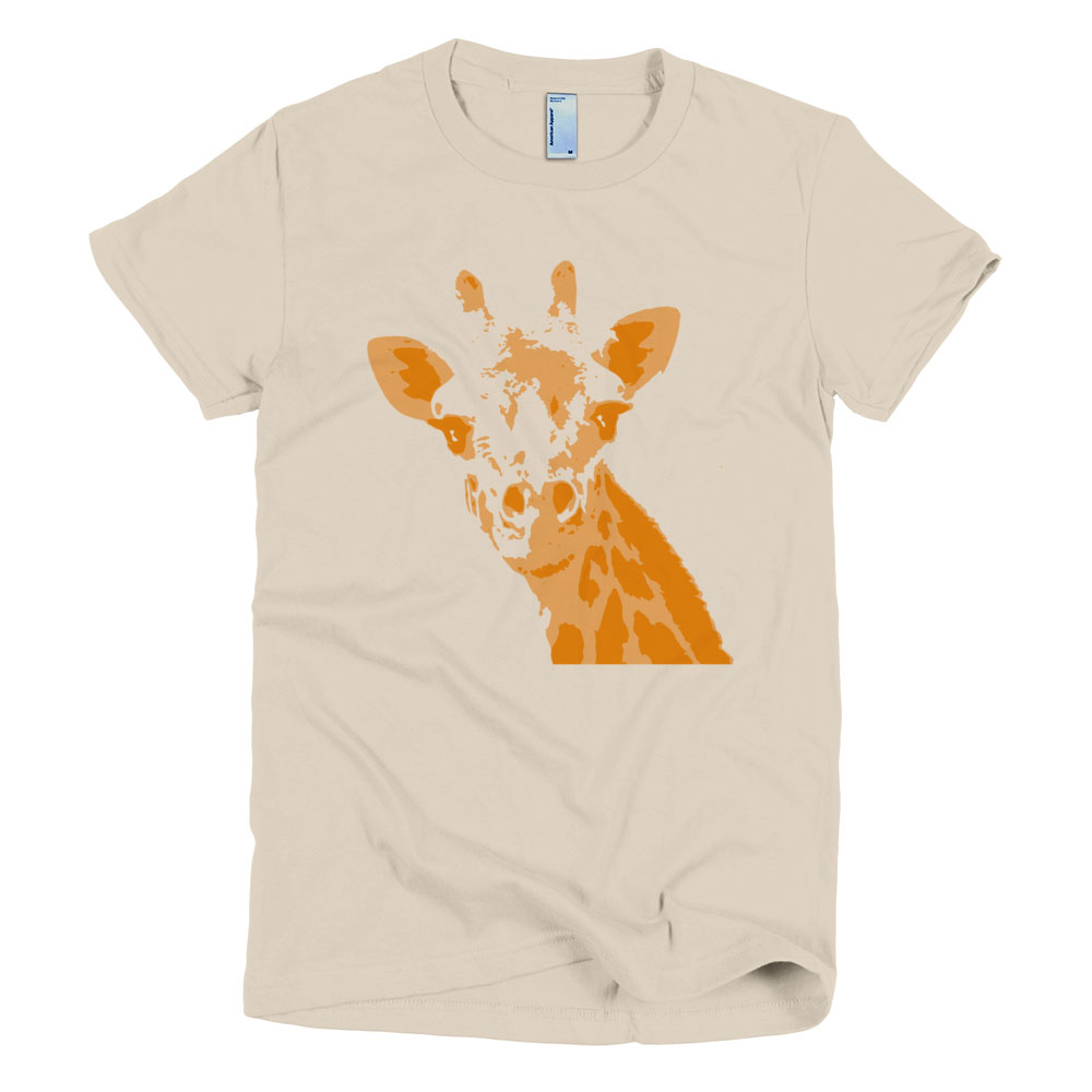 88d58223 Giraffe T-Shirt Women - Cause You Care