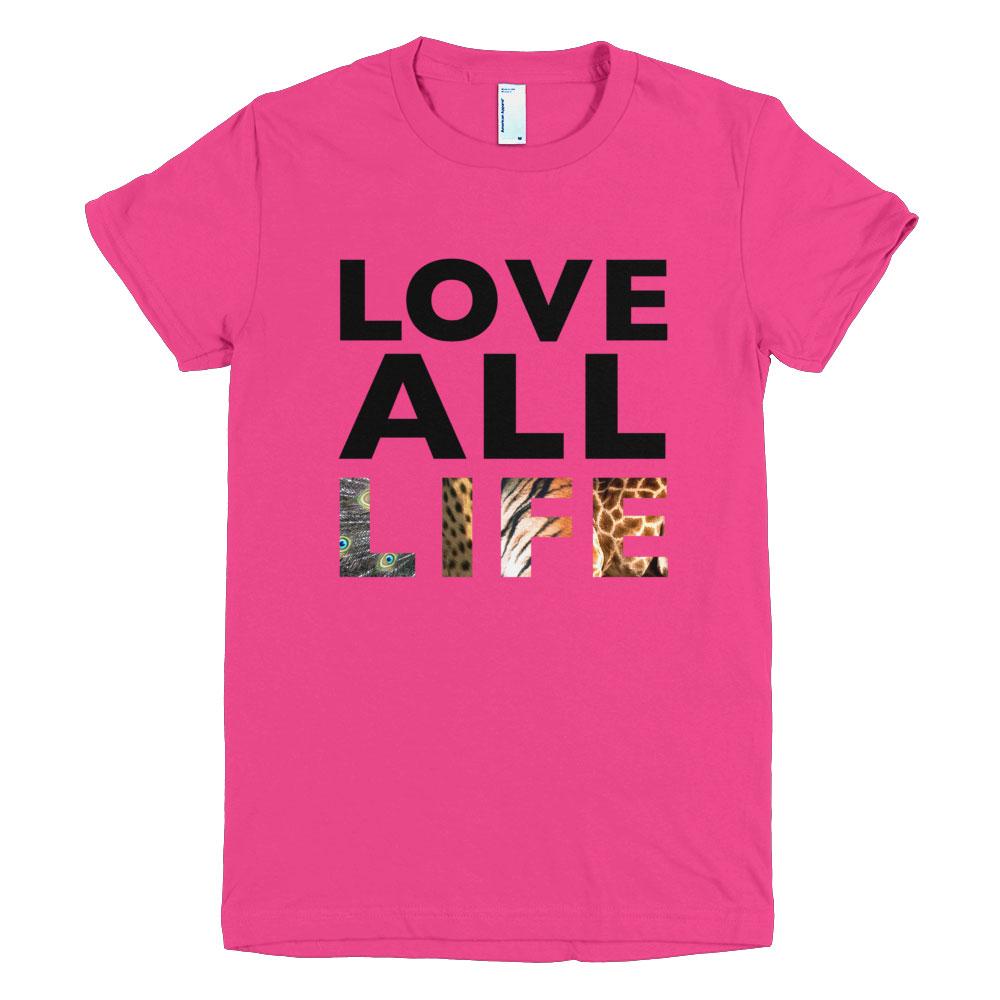 Love All Life Women - Fuchsia