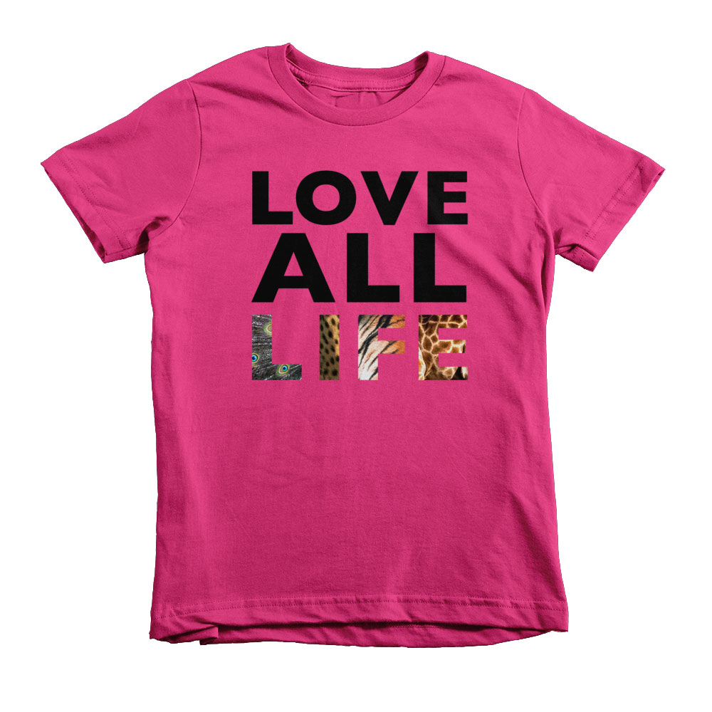 Love All Life Kids - Fuchsia