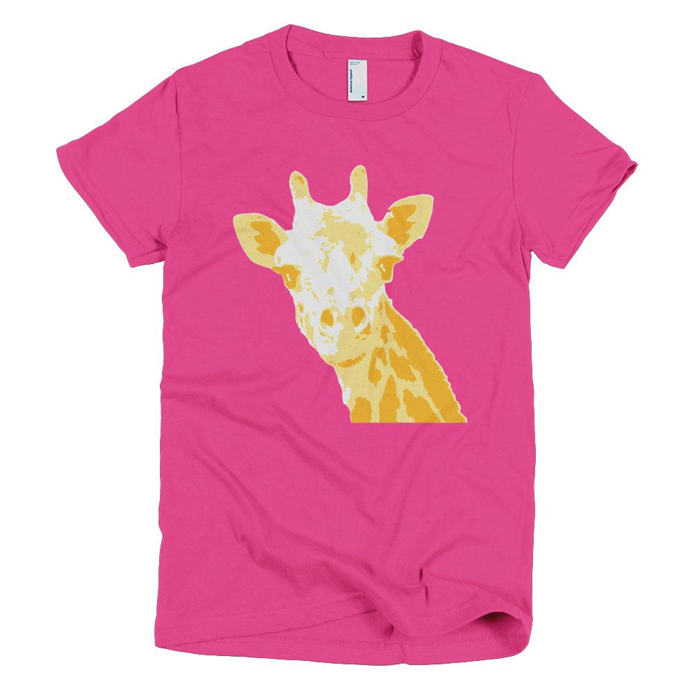 Giraffe Women - Fuchsia
