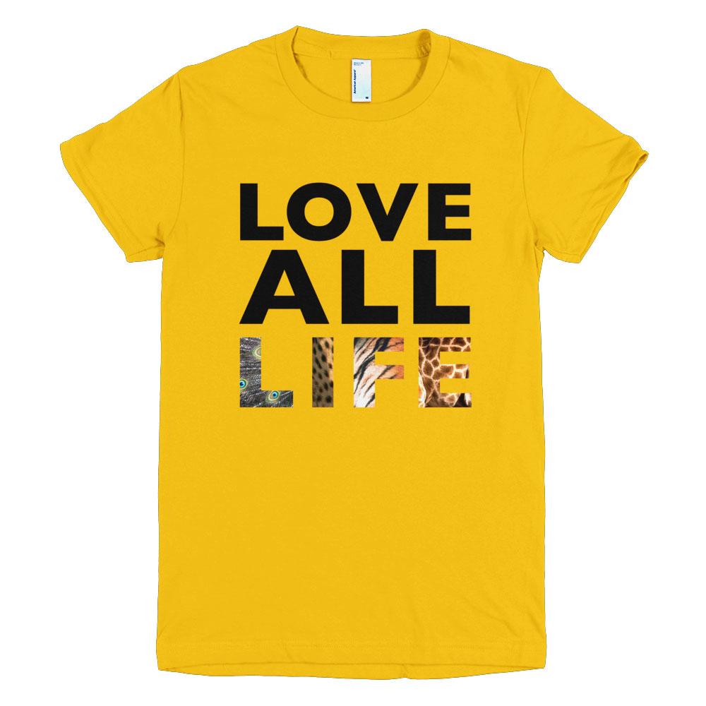 Love All Life Women - Gold