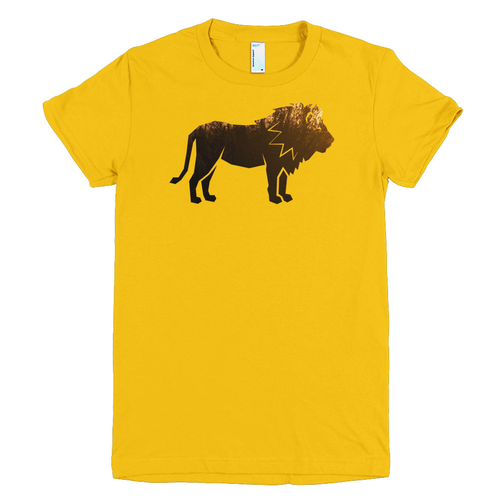 Lion Habitat Women - Gold