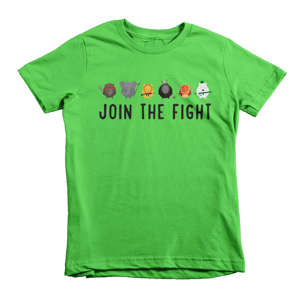 Join the Fight Kids - Grass