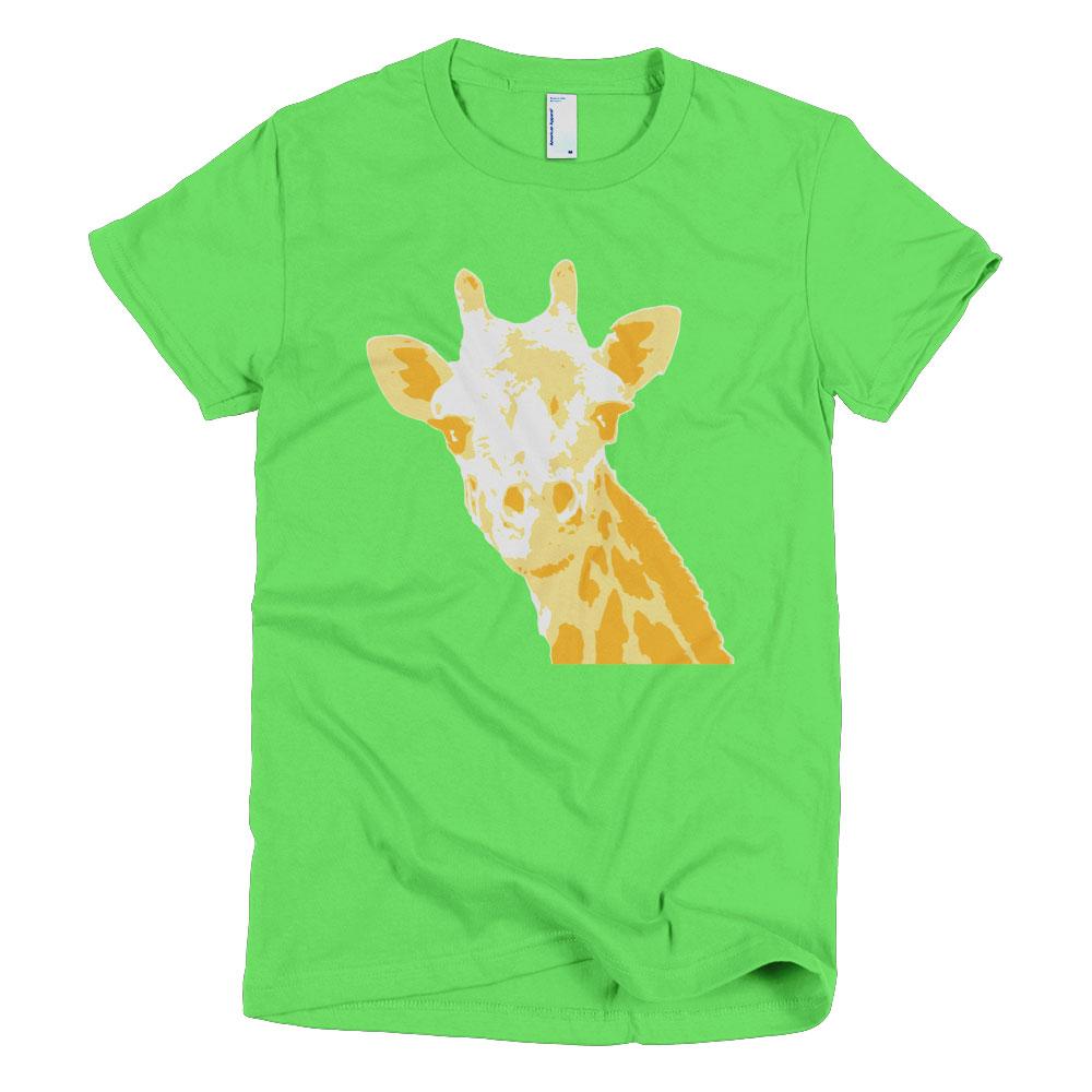 Giraffe Women - Grass