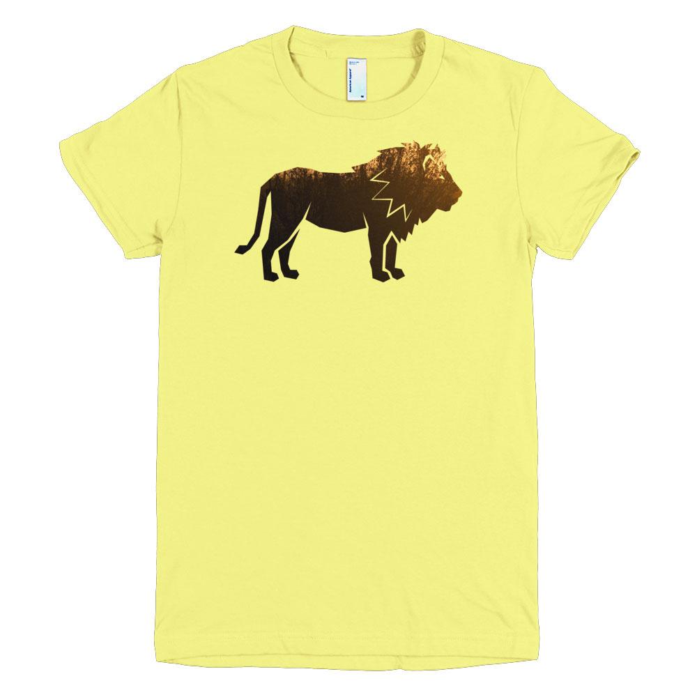Lion Habitat Women - Lemon