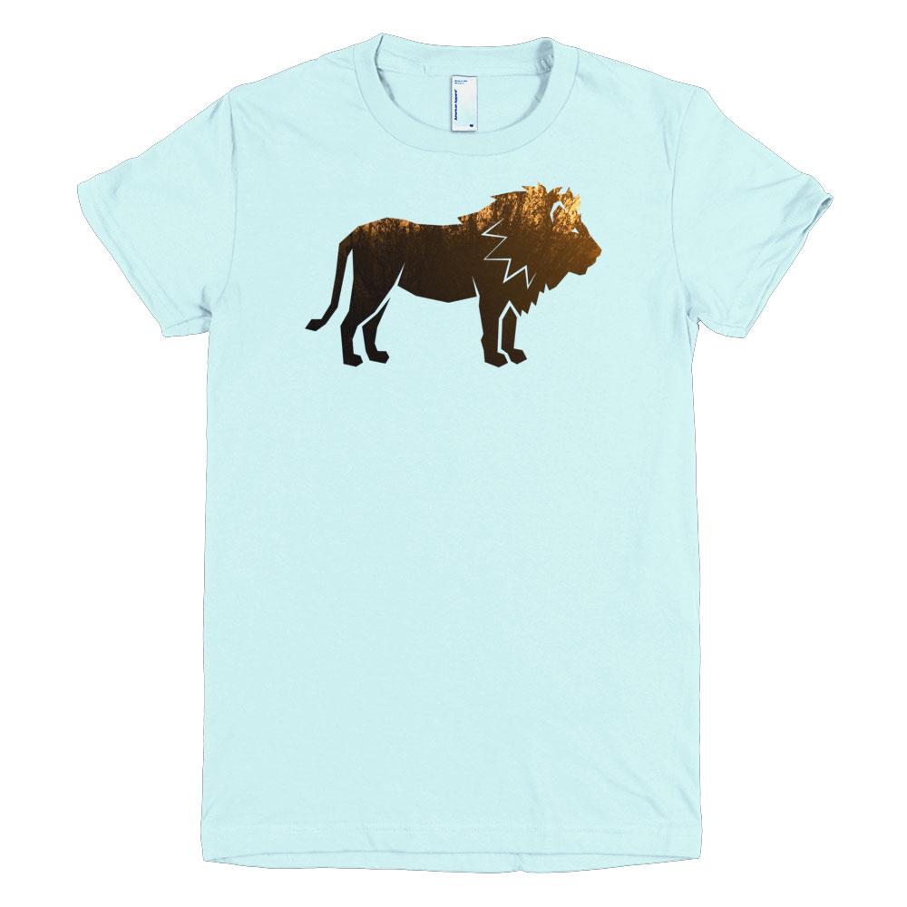 Lion Habitat Women - Light Blue