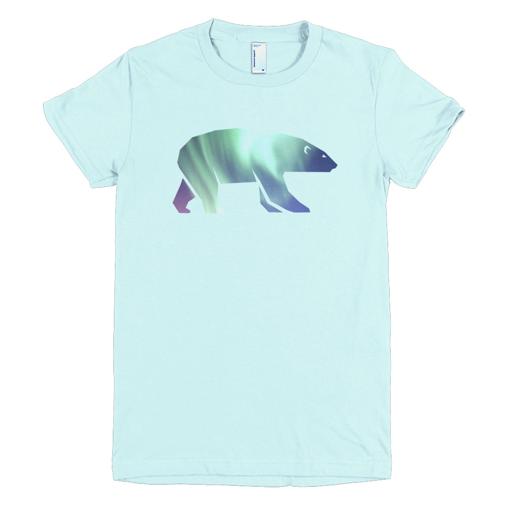Polar Bear Habitat Women - Light Blue