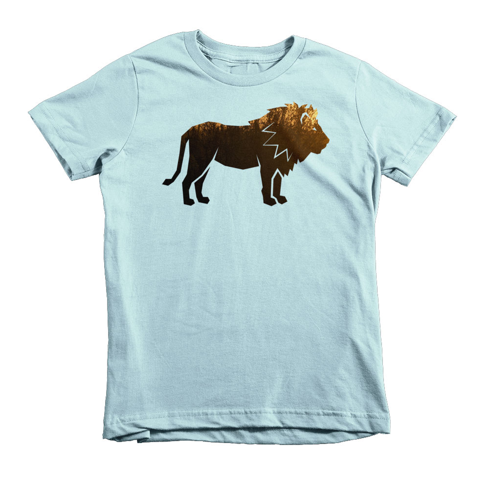 Lion Habitat Kids - Light Blue