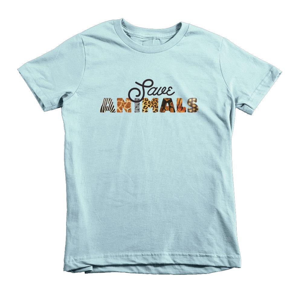 Save Animals Kids - Light Blue