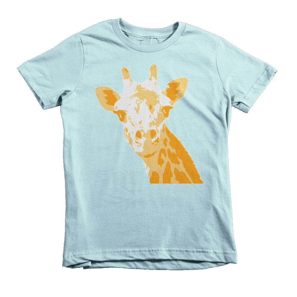Giraffe Kids - Light Blue