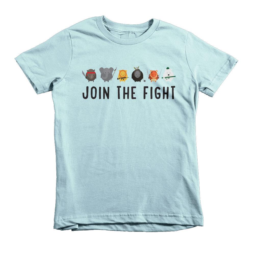 Join the Fight Kids - Light Blue