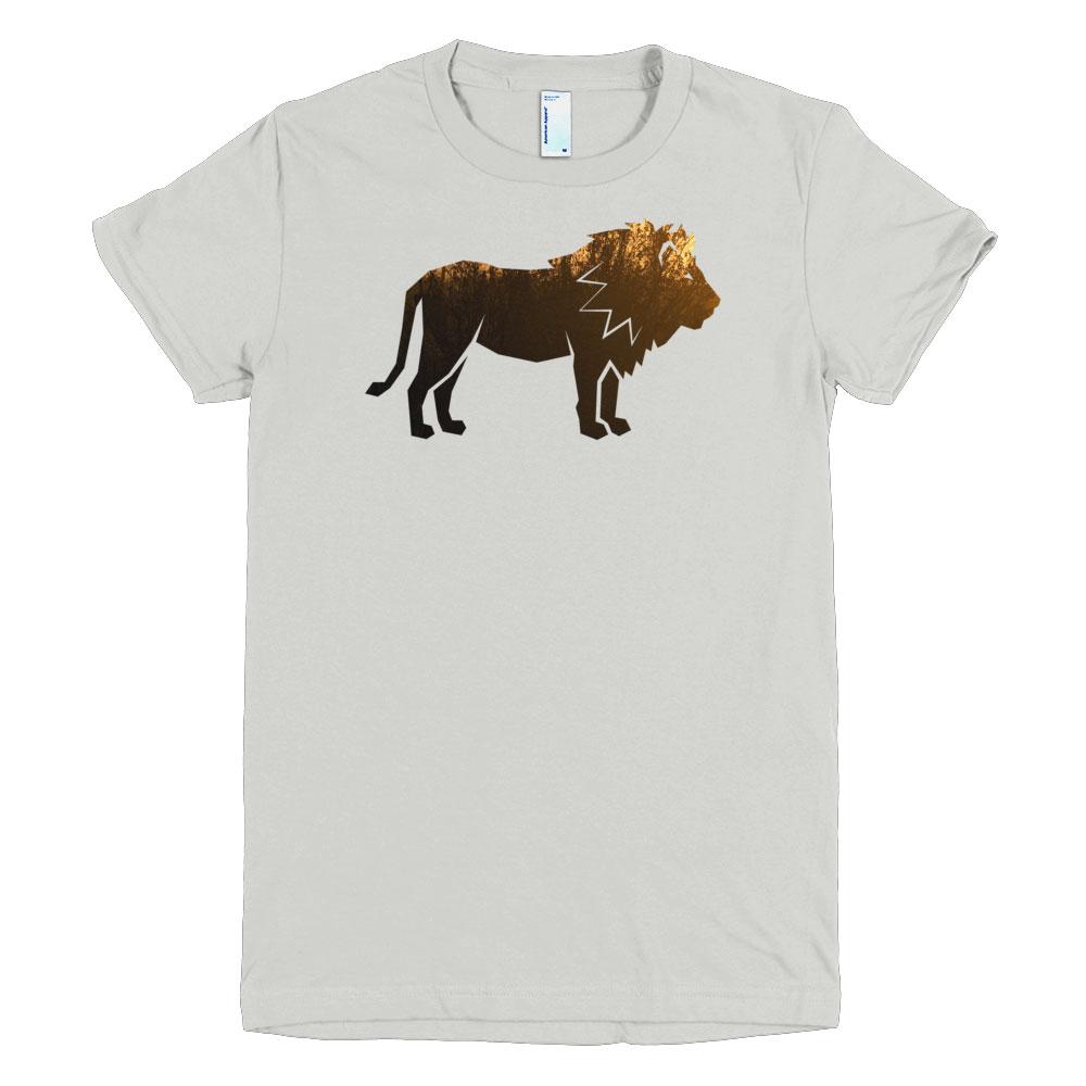 Lion Habitat Women - New Silver