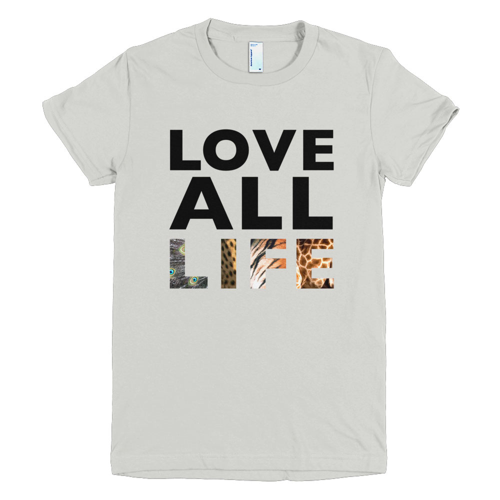 Love All Life Women - New Silver