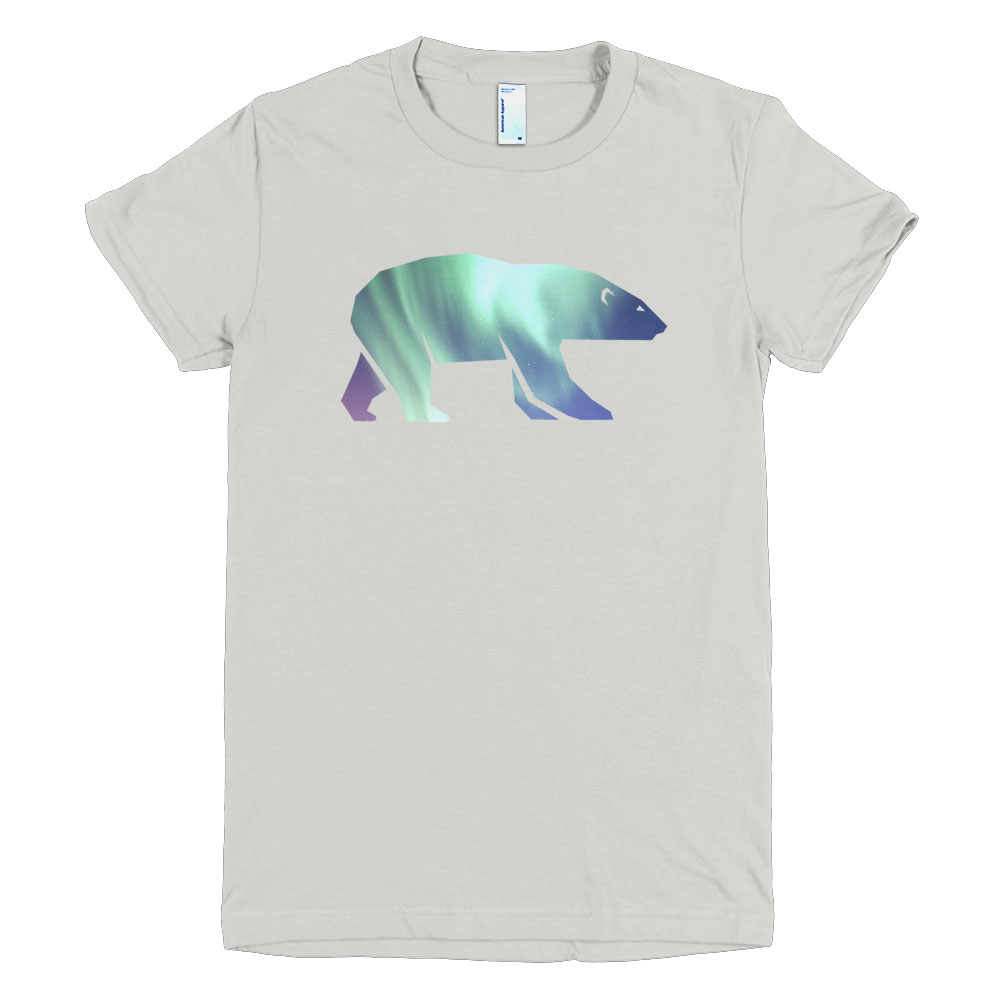 Polar Bear Habitat Women - New Silver