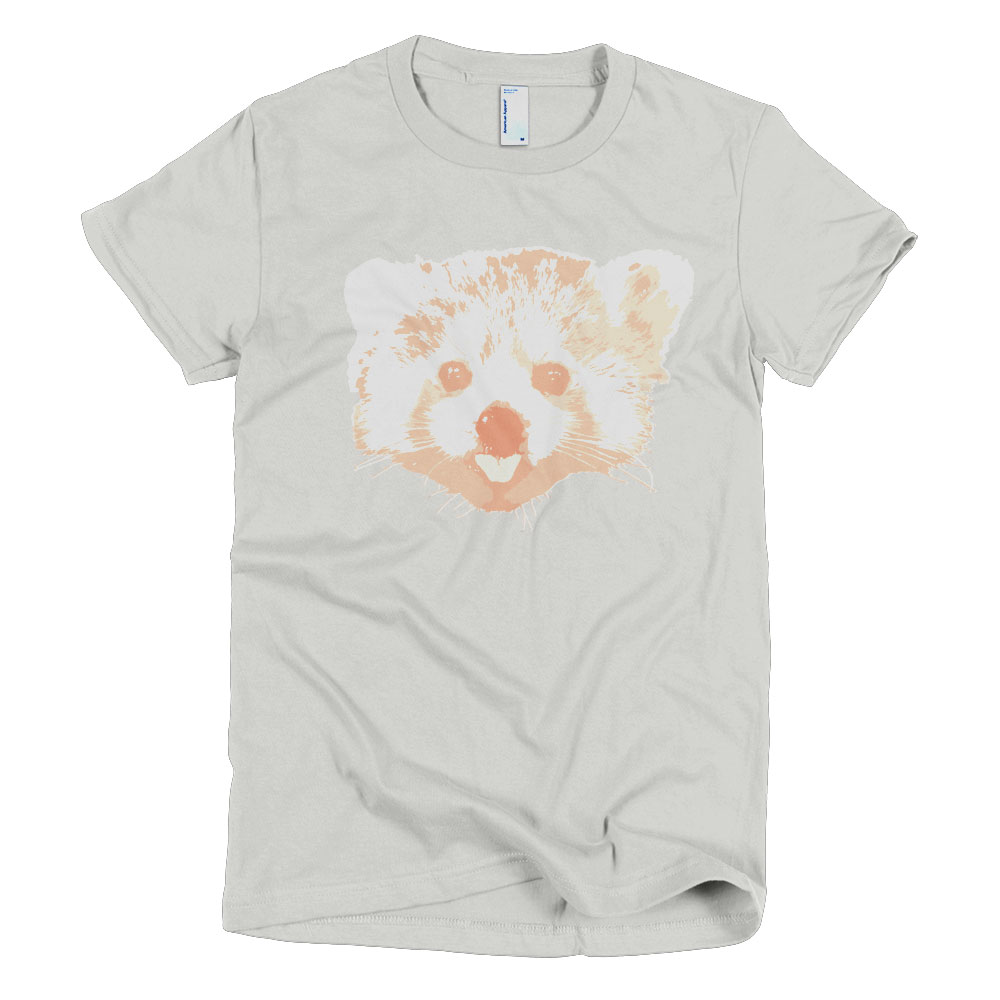 Red Panda Women - New Silver