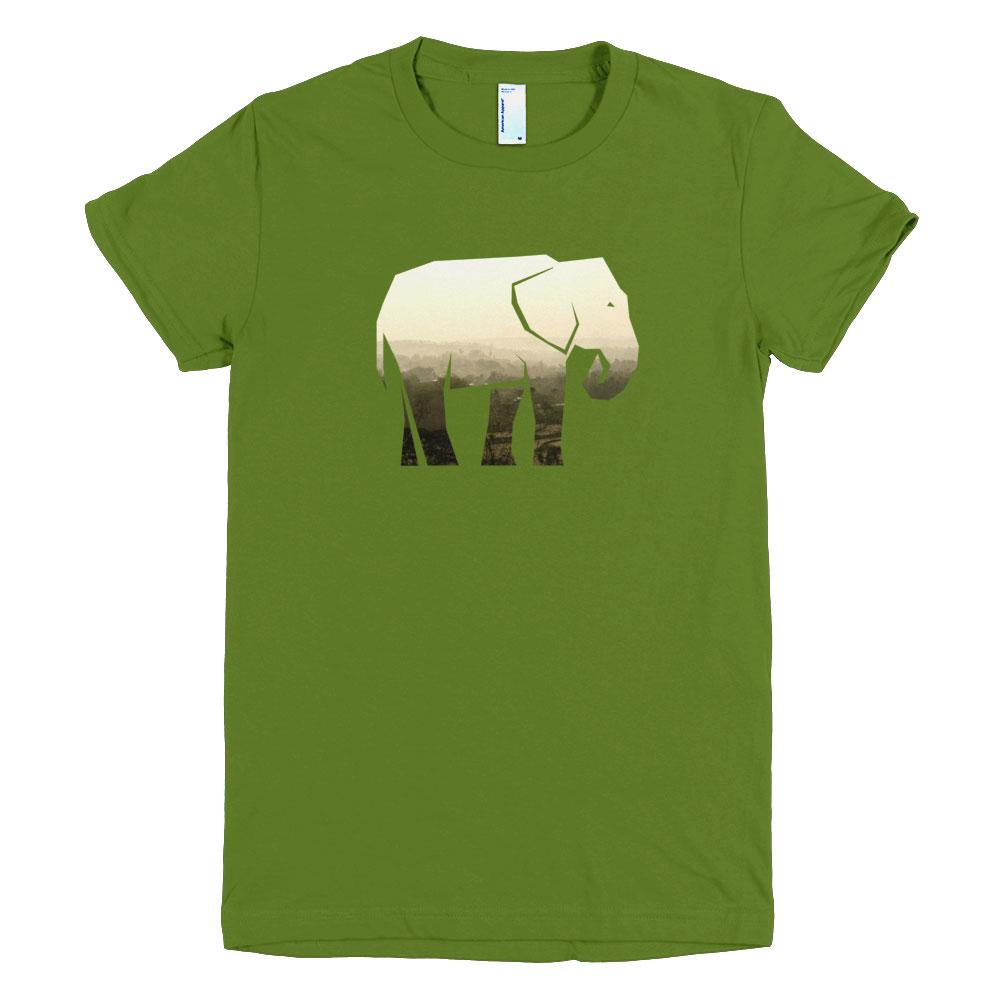 Elephant Habitat Women - Olive
