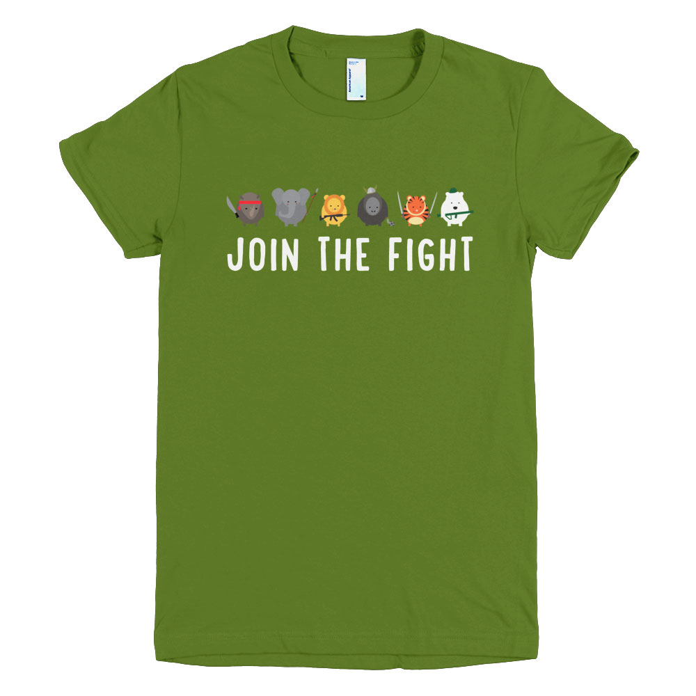 Join the Fight Women - Olive